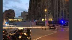 Imagen de archivo de la Sagrada Familia desalojada.