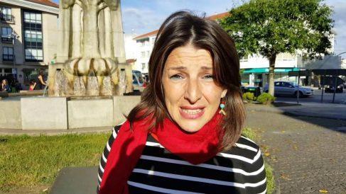 Yolanda Díaz, portavoz de Galicia en Común en el Congreso.
