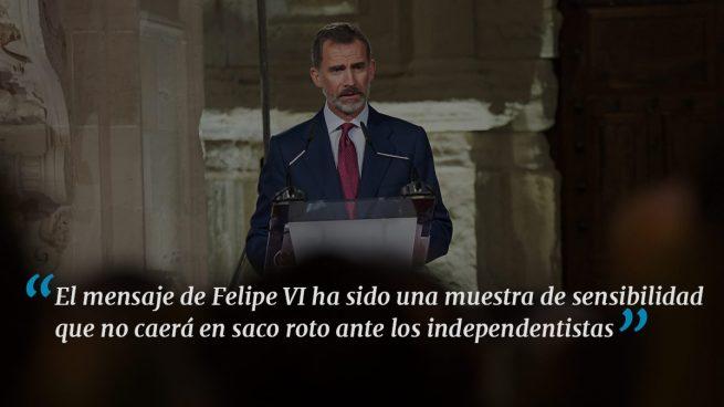 Felipe VI lanza un mensaje necesario
