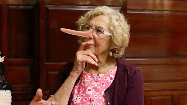 Carmena miente: los independentistas pidieron la sala para hacer apología del referéndum