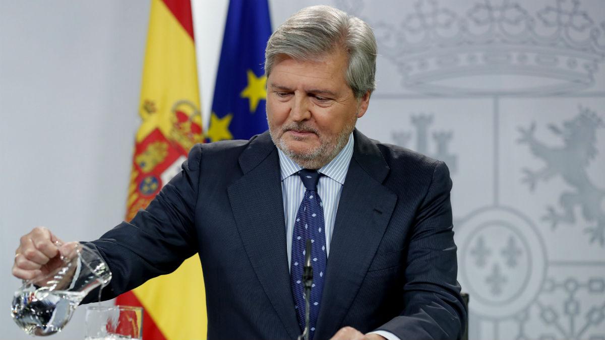 Íñigo Menéndez en el último Consejo de Ministros (Foto: EFE).