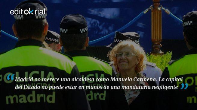 Manuela, ¿quieres que maten a tus policías?