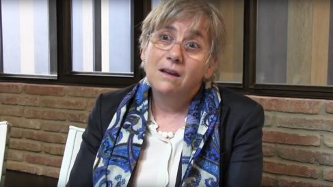 La eurodiputada separatista Clara Ponsatí.