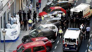 Lugar del crimen de Blas Gámez. (Foto: EFE)