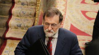 Mariano Rajoy entrando al hemiciclo. (Foto: Francisco Toledo)