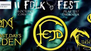 Concierto de II Folk Fest en los Pilares 2017