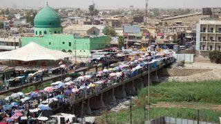 Bazar de Kirkuk (Irak).
