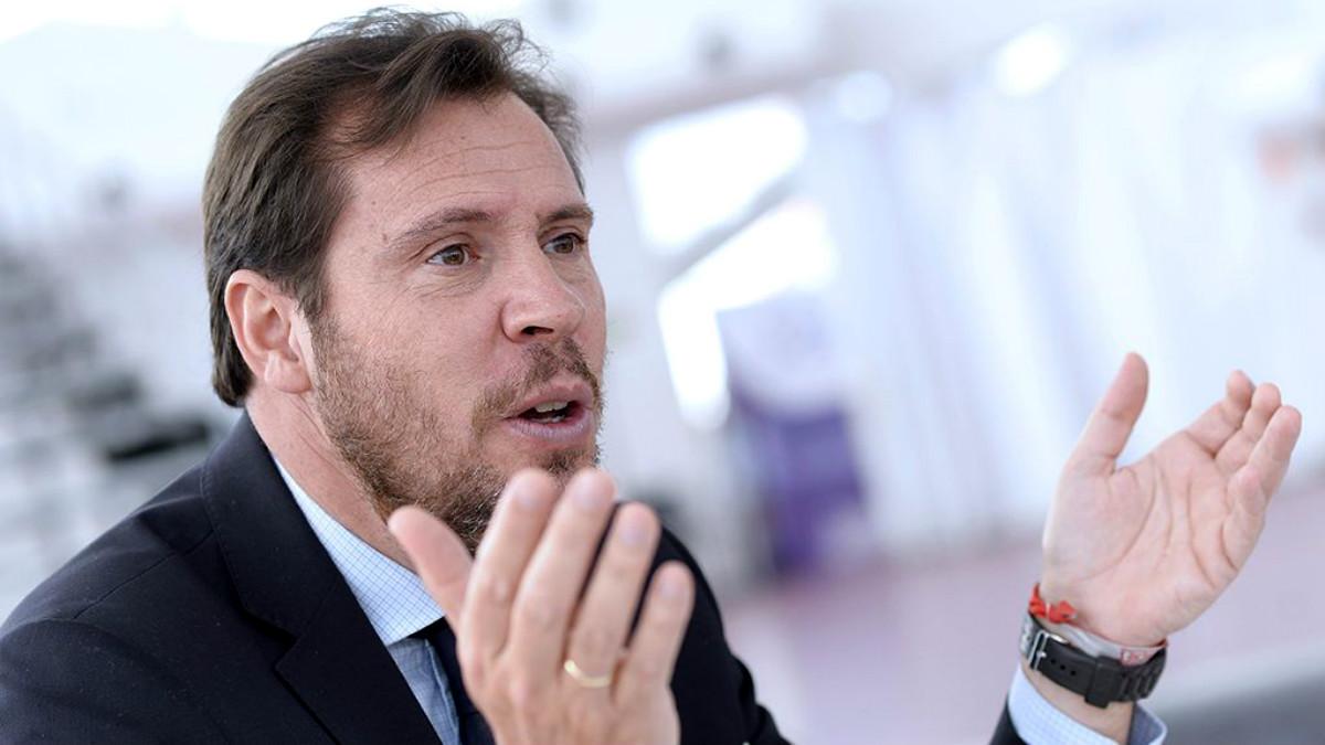 Óscar Puente, alcalde de Valladolid y portavoz de la Ejecutiva Federal del PSOE.