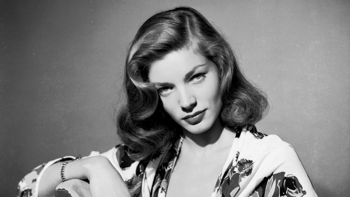Lauren Bacall es considerada una de las 20 estrellas femeninas más grandes de todos los tiempos.