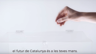 Una de las imágenes del vídeo sobre el referéndum que también puede visualizarse en la web.