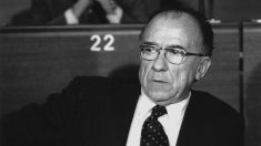 El ex líder comunista Santiago Carrillo.