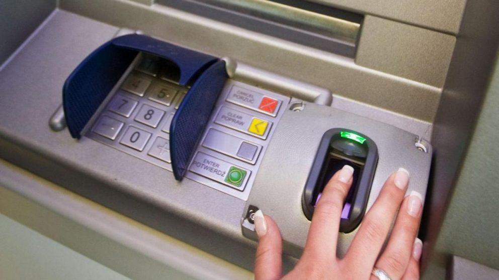 Cajero biométrico. (Foto: iStock)