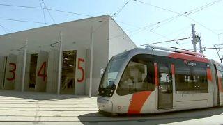Los conductores de tranvías convocan paros durante el mes de octubre.