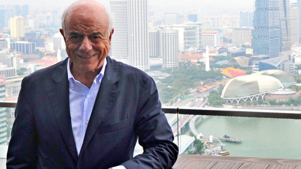 El presidente de BBVA, Francisco González, en Singapur. (Foto: BBVA)