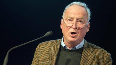 Alexander Gauland, líder del partido de extrema derecha alemán AfD.