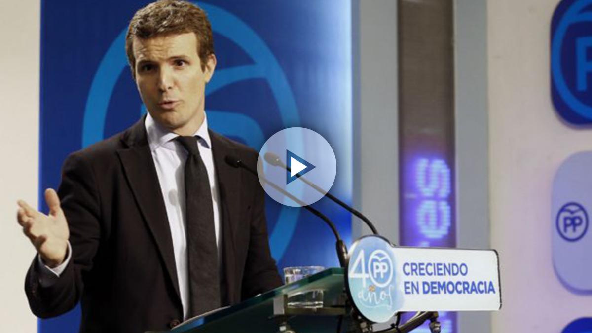 Pablo Casado, vicesecretario de Comunicación del PP (Foto: EFE)