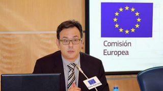 Dimitri Barua, portavoz de la Comisión Europea en España.