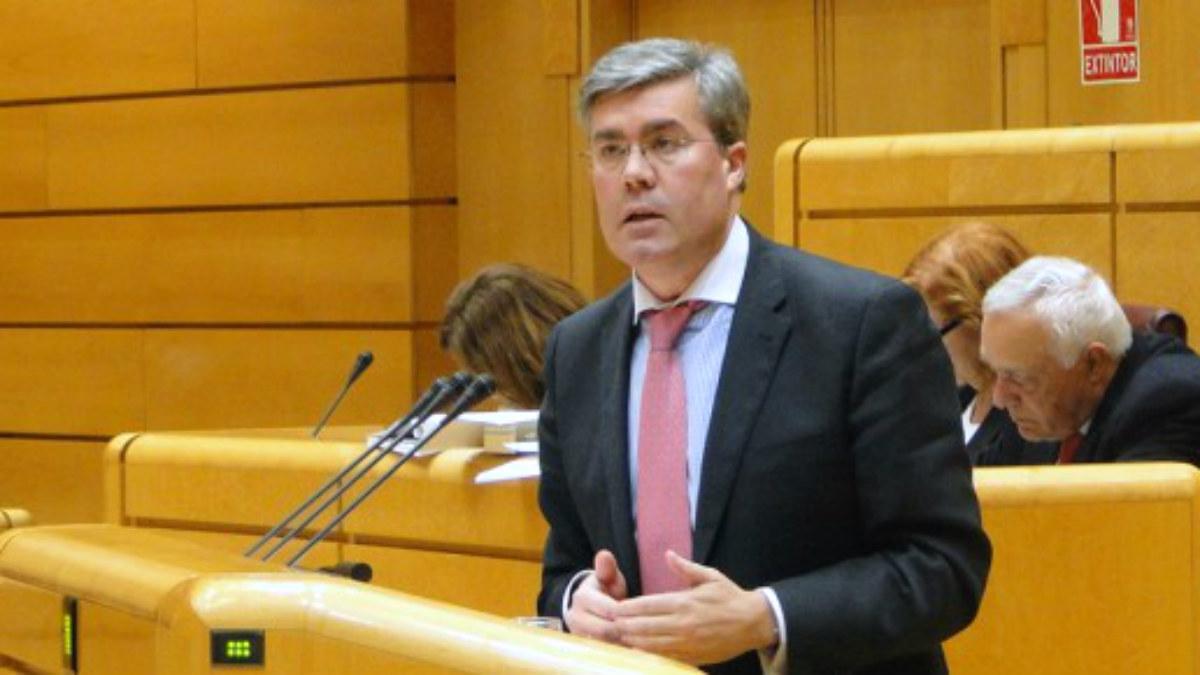 José Enrique Fernández de Moya, secretario de Estado de Hacienda.