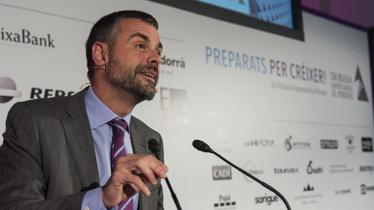 Santi Vila, consejero de Empresa y Conocimiento de la Generalitat.