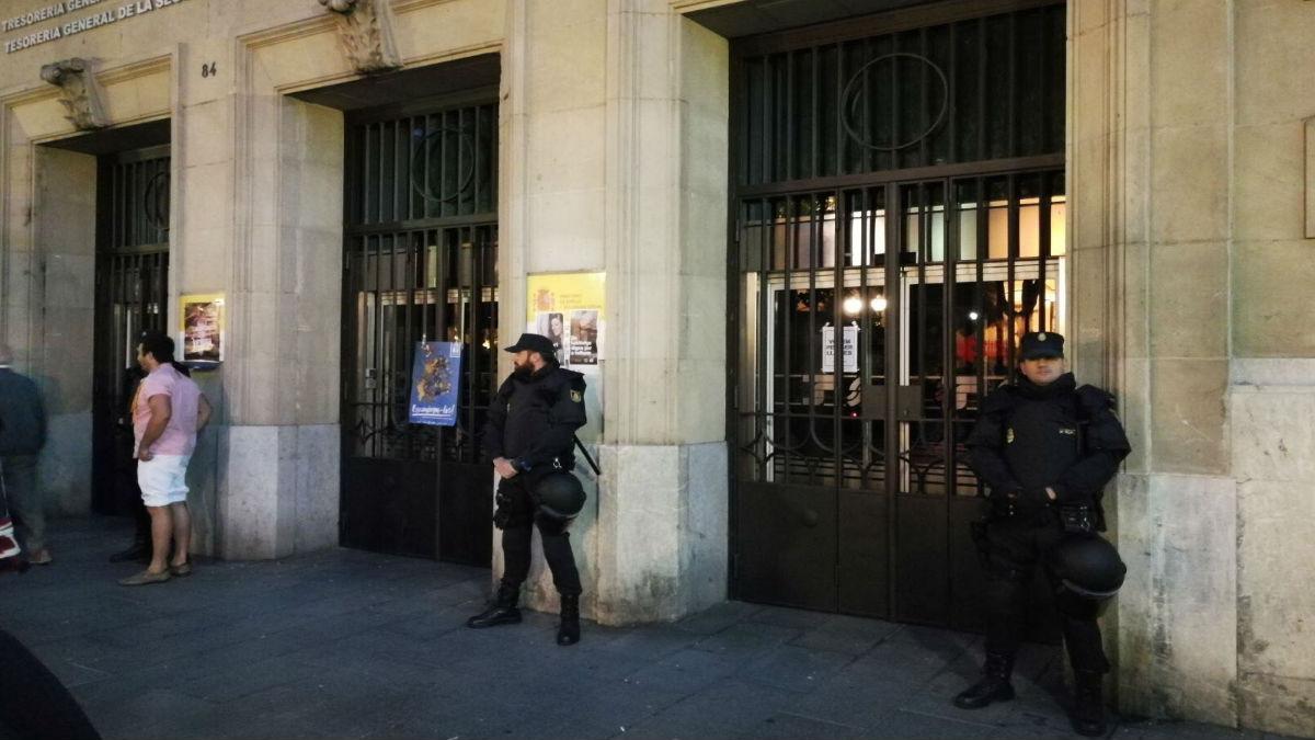 Policía Nacional en Tarragona