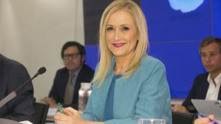 Cristina Cifuentes, presidenta de la Comunidad de Madrid (Foto. PP Madrid)