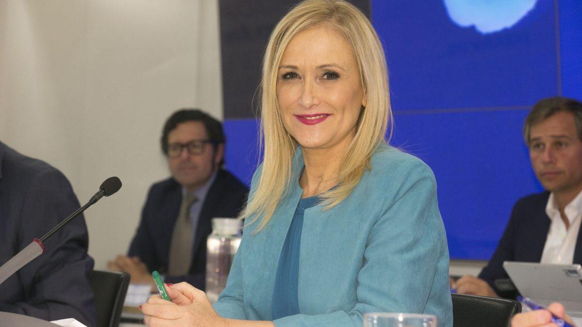 Cristina Cifuentes, presidenta de la Comunidad de Madrid (Foto: PP Madrid)