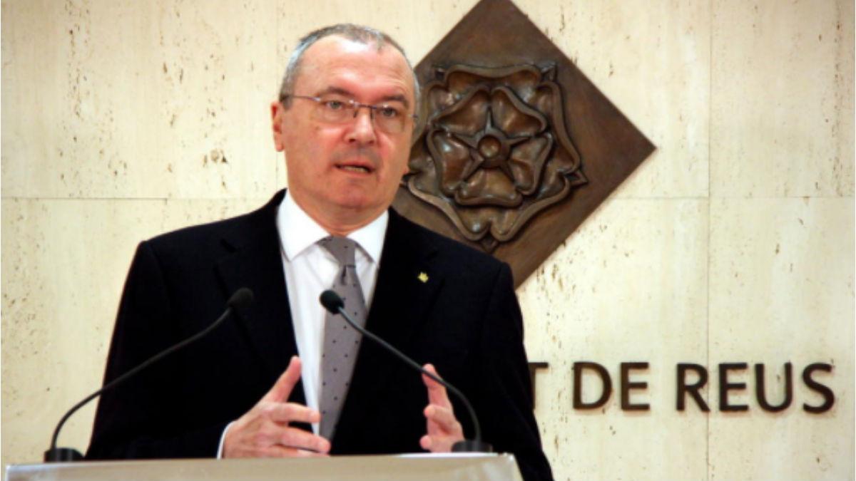 Alcalde de Reus, Carlos Pellicer. (Foto: PDeCAT)