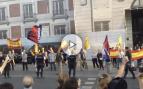 Enfrentamientos en Sol entre grupos de ultraderecha y defensores del 1-O convocados por Podemos