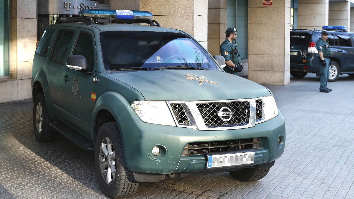 Agentes de la Guardia Civil  (Foto: EFE)