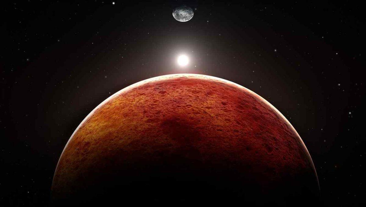 El planeta rojo es todavía un misterio para el ser humano.