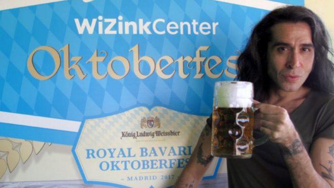 Mario Vaquerizo será anfitrión de la Oktoberfest de Madrid 2017 en el WiZink Center.