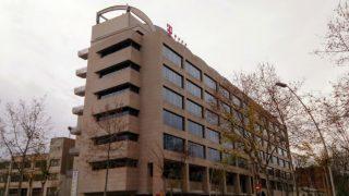 Sede en Barcelona de la compañía alemana T-Systems, proveedora de servicios informáticos de la Generalitat.