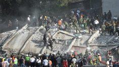 Ciudad de México tras el terremoto. (Foto: AFP)
