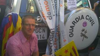 Cabo de los Mossos David Gasull Sanglas en Barcelona