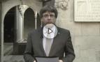 """Puigdemont publica un vídeo respondiendo a Rajoy: """"Ha cruzado muchas líneas rojas"""""""