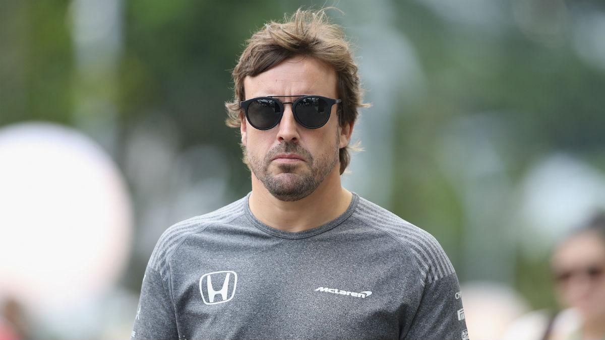 Desde McLaren se muestran convencidos de que Fernando Alonso renovará su contrato tras la llegada al equipo de Renault como motorista. (Getty)