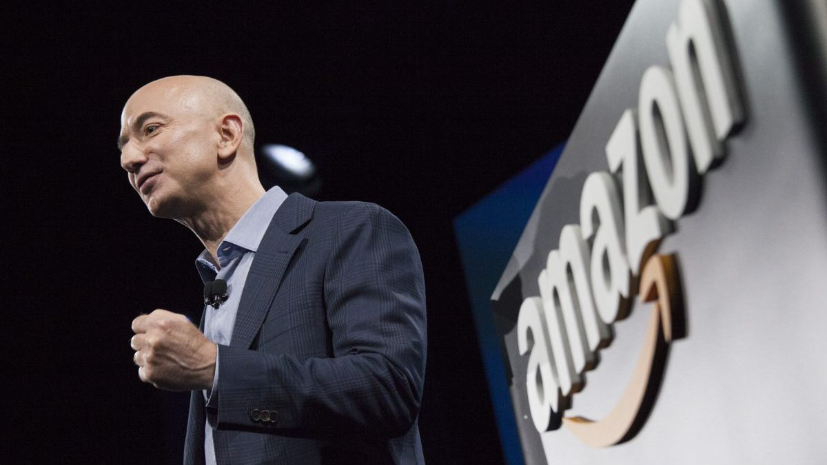 Jeff Bezos, CEO de Amazon (Foto. Getty)