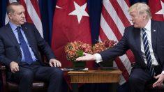 Recep Tayyip Erdogan y Donald Trump. (Foto: AFP)