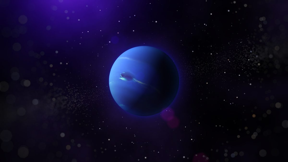 Neptuno es el planeta más lejano del sistema solar.