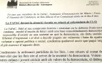 Una asociación de padres catalanes a favor del 1-O justifica el uso de niños en las protestas