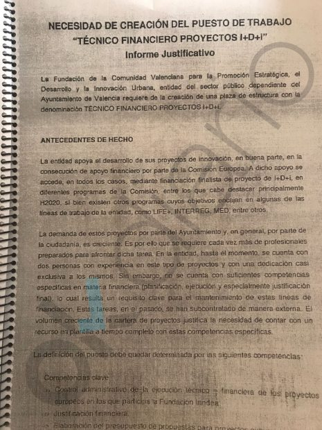 Una auditoría tumba los contratos de la empresa pública valenciana convertida en pesebre de podemitas
