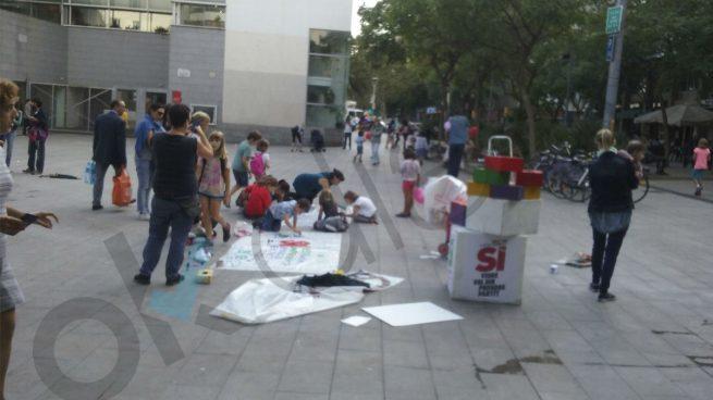El adoctrinamiento llega a la guardería: el independentismo 'recluta' a niños de tres años