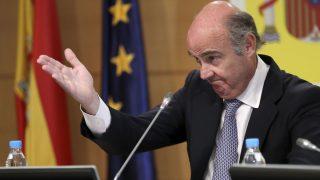 El ministro de Economía, Luis de Guindos, (Foto: EFE/Chema Moya)