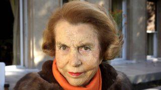 Liliane Bettercourt, heredera del imperio L'Oréal (Foto. Getty)