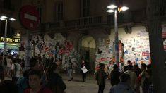 El Ayuntamiento de Mataró en las noches previas al referéndum ilegal de secesión.