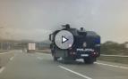 La Policía desplaza a Barcelona su camión 'lanza agua' de cara al 1-O