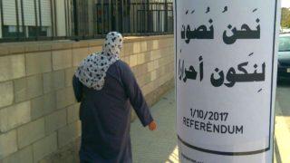 Los golpistas de Salt (Gerona) piden el voto en árabe para el 1-O