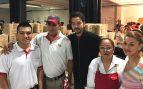 El actor Diego Luna volcado en ayudar a los afectados por el terremoto en México