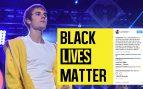 Justin Bieber sorprende sumándose al movimiento contra la violencia policial contra los negros