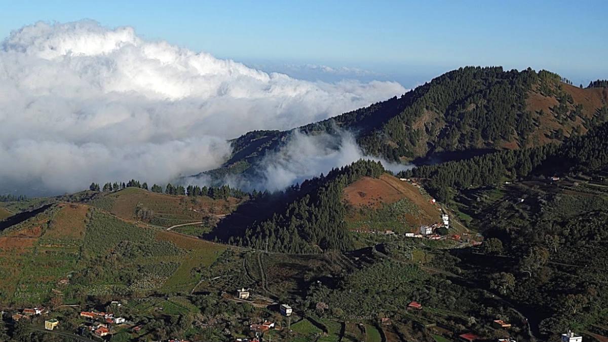 La cumbre de Gran canaria, en Los Llanos de Ana López.